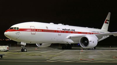 A6-ALN - Boeing 777-2AN(ER) - United Arab Emirates - Abu Dhabi Amiri Flight