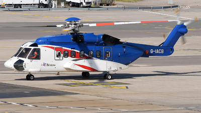 A picture of GIACB - Sikorsky S92A Helibus - Bristow Helicopters - © David Oates