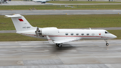 A9C-BRF - Gulfstream G-IV(SP) - Bahrain - Royal Flight
