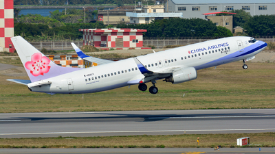 B-18612 - Boeing 737-809 - China Airlines