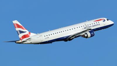G-LCAD - Embraer 190-100LR - BA CityFlyer