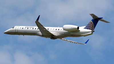 A picture of N14203 - Embraer ERJ145XR - [14500964] - © JC