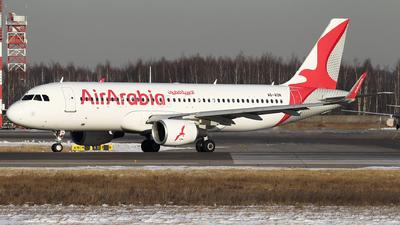 A6-AON - Airbus A320-214 - Air Arabia