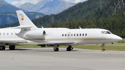 A picture of HBIAW - Dassault Falcon 2000 - [16] - © claudio fossati