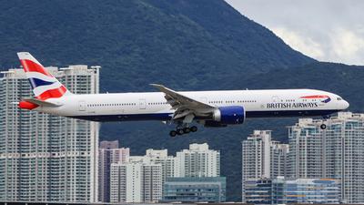 G-STBN - Boeing 777-336ER - British Airways