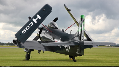 G-RADR - Douglas AD-4NA Skyraider - Private