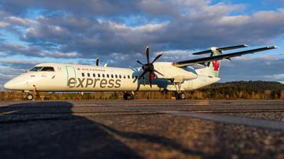 A picture of CGGOF - De Havilland Canada Dash 8400 - Air Canada - © CJMAviation