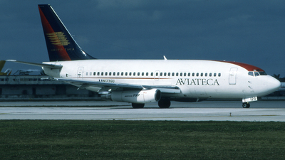 N123GU - Boeing 737-2H6(Adv) - Aviateca