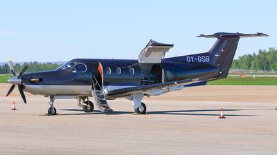 OY-GSB - Pilatus PC-12/47 - Widex