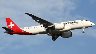 HB-AZD - Embraer 190-300STD - Helvetic Airways