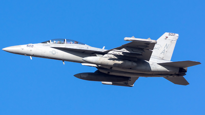 168256 - Boeing EA-18G Growler  - United States - US Navy (USN)