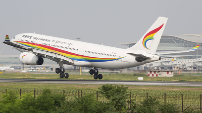 A picture of B8420 - Airbus A330243 - Tibet Airlines - © Lihaoyang