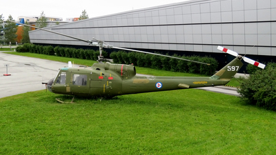 597 - Bell UH-1B Iroquois - Norway - Air Force