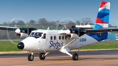 A picture of GCEWM - De Havilland Canada DHC6300 Twin Otter - Skybus - © Craig Stevens