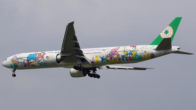 A picture of B16722 - Boeing 77736N(ER) - EVA Air - © Luqman Alif