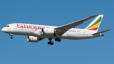 A picture of ETASG - Boeing 7878 Dreamliner - Ethiopian Airlines - © MINJUNKIM