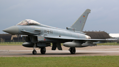 30-62 - Eurofighter Typhoon EF2000 - Germany - Air Force
