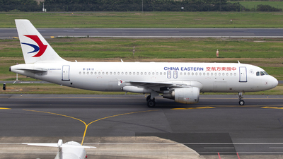 A picture of B2410 - Airbus A320214 - China Eastern Airlines - © SEN BAI