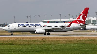 TC-JGM - Boeing 737-8F2 - Turkish Airlines