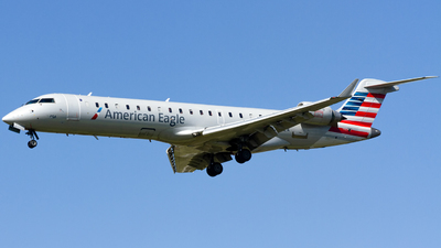 A picture of N530EA - Mitsubishi CRJ702ER - American Airlines - © Conor Clancy