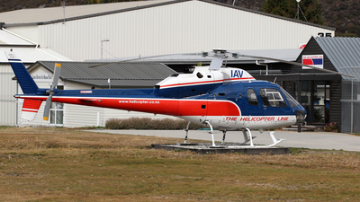 ZK-IAV - Aérospatiale AS 355F1 Ecureuil 2 - The Helicopter Line