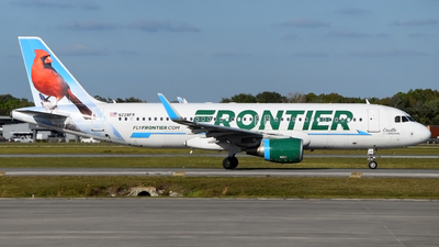 A picture of N228FR - Airbus A320214 - Frontier Airlines - © Doug Marsh