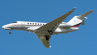 A picture of N800QS - Cessna 700 Citation Longitude - NetJets - © Kerrigan_Aviation_NJ