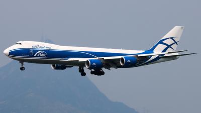 A picture of VQBLR - Boeing 7478HV(F) - AirBridgeCargo Airlines - © Chow Kin Hei - AHKGAP