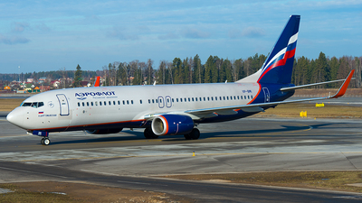 VP-BMI - Boeing 737-8MC - Aeroflot