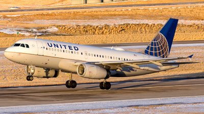 A picture of N853UA - Airbus A319131 - United Airlines - © HA-KLS