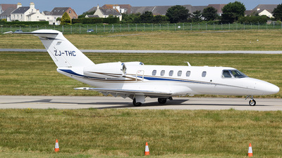 ZJ-THC - Cessna 525 Citation CJ4 - Private