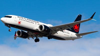 A picture of CFSNQ - Boeing 737 MAX 8 - Air Canada - © CJMAviation