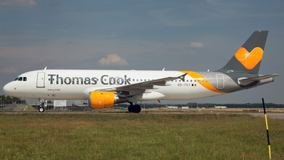 OO-TCT - Airbus A320-212 - Thomas Cook Airlines Belgium
