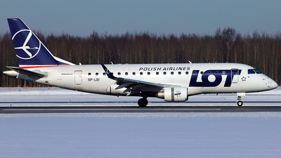 SP-LDI - Embraer 170-100STD - LOT Polish Airlines