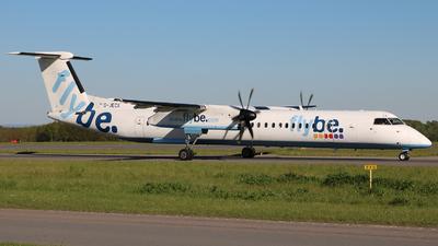 G-JECX - Bombardier Dash 8-Q402 - Flybe