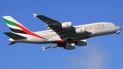 A picture of A6EDR - Airbus A380861 - Emirates - © Manfred Franke