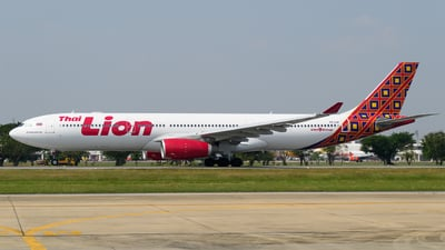 HS-LAH - Airbus A330-343 - Thai Lion Air