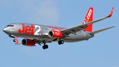 A picture of GJZHZ - Boeing 7378MG - Jet2 - © david daniel
