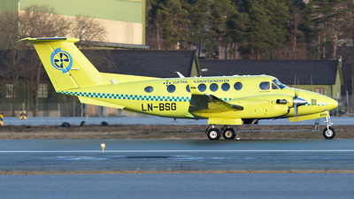 LN-BSG - Beechcraft B200GT Super King Air - Babcock Scandinavian AirAmbulance