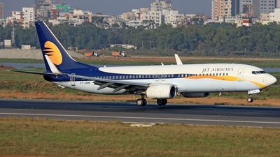 VT-JBW - Boeing 737-8AL - Jet Airways