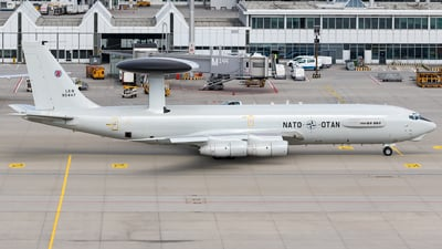 LX-N90447 - Boeing E-3A Sentry - NATO - Airborne Early Warning Force