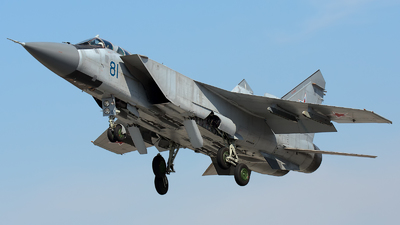 RF-90912 - Mikoyan-Gurevich MiG-31BM Foxhound - Russia - Air Force