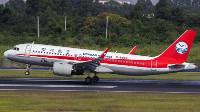 B-8949 - Airbus A320-271N - Sichuan Airlines