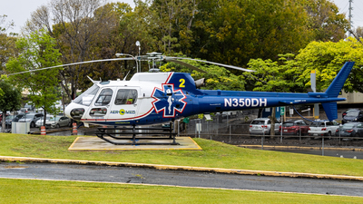 N350DH - Eurocopter AS 350B2 Ecureuil - Aeromed