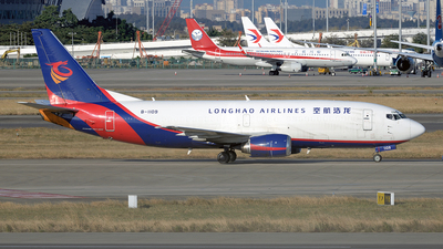 A picture of B1109 - Boeing 73734S(BDSF) - Longhao Airlines - © BCG554