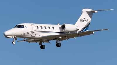 N287CD - Cessna 650 Citation III - Private