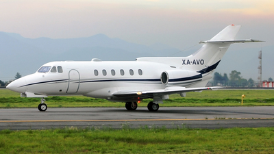XA-AVO - British Aerospace BAe 125-700A - Private