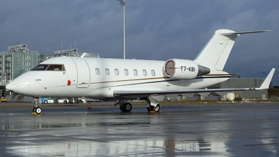 T7-KBI - Bombardier CL-600-2B16 Challenger 605 - Private