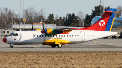 OY-CIR - ATR 42-300 - Danish Air Transport (DAT)