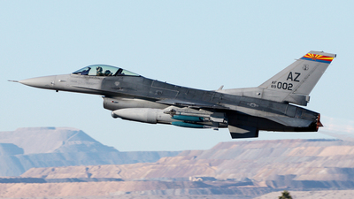89-2002 - General Dynamics F-16C Fighting Falcon - United States - US Air Force (USAF)